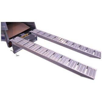 Pro Safety Ramps / Alu-ramper - 2430 x 270 x 80 mm (2500KG)