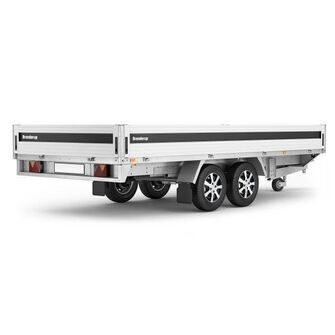 Brenderup 5420 ATB trailer - 3500 kg. - Bred model
