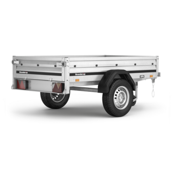 Brenderup trailer 1205 S - 500 kg. - 2018 model!