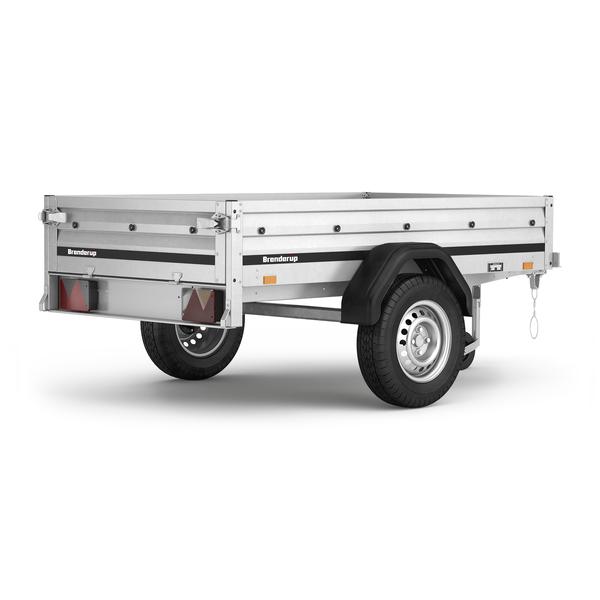 Image of Brenderup Trailer 1205 S - 500 kg<br>Nyeste model!